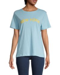 Rebecca Minkoff New York Delaney T-shirt - Blue