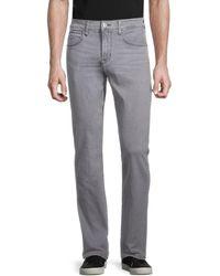 Hudson Jeans Men's Low-rise Straight-fit Jeans - Quartet - Size 30 - Gray