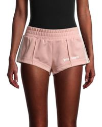Palm Angels Logo Hot Shorts - Pink