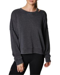 Betsey Johnson - Slit And Distressed Pullover - Lyst