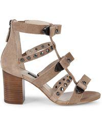 Nine West Giovanna Studded Sandals - Natural