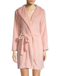 271820991c Juicy Couture - Belted Long-sleeve Robe - Lyst