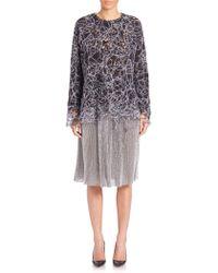 Adam Lippes - Embroidered Threadwork Sweatshirt - Lyst