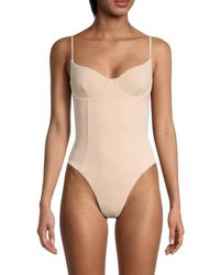 Onia Women's Isabella One-piece Swimsuit - Nude - Size M - Natural