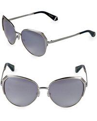 Zac Posen - Issa 57mm Oval Sunglasses - Lyst