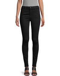 J Brand Maria High-rise Skinny Jeans - Multicolour
