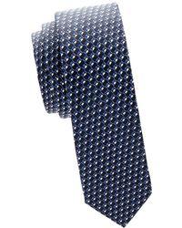 Valentino - Geometric Silk Tie - Lyst