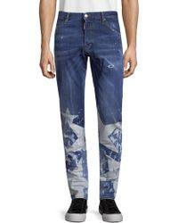 Viktor & Rolf - Big Stars Washed Jeans - Lyst