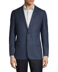Armani - Mini Check Sport Jacket - Lyst