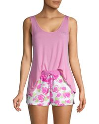 Betsey Johnson - 2-piece Shorty Pajama Set - Lyst