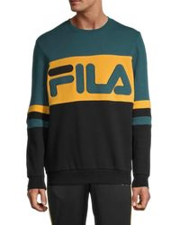 Fila Freddie Logo Sweatshirt - Black