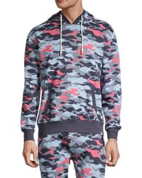 Sovereign Code March Camo Hoodie - Blue