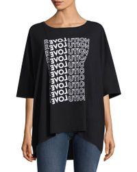 Each x Other Revolution T-shirt - Black