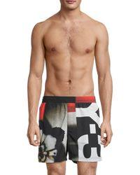 Y-3 Logo Swim Shorts - Black