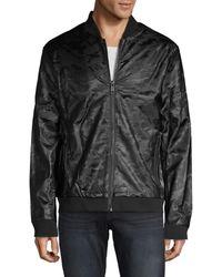 Antony Morato Men's Camouflage-print Bomber Jacket - Black - Size 50 (40)