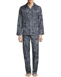 Valentino - Two-piece Silk Pajama Set - Lyst