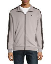 Standard Issue - Zip Front Sweatshirt - Lyst