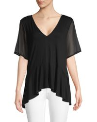 BCBGeneration - Relaxed Flounce Top - Lyst