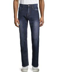 Buffalo David Bitton Classic Straight Jeans - Blue