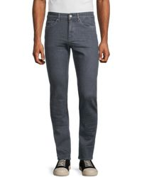 BOSS by Hugo Boss Men's Delaware Slim-fit Stretch Denim Jeans - Grey - Size 32 34