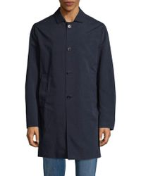 Eidos - Buttoned Long Coat - Lyst