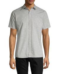 Civil Society - Printed Short-sleeve Shirt - Lyst