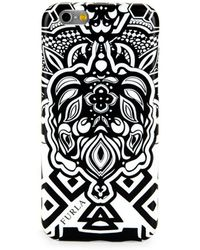 Furla Tattoo-print Iphone 6 Case - Black