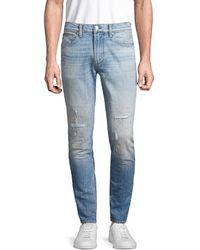 Hudson Jeans Men's Skinny Stretch Jeans - Somerset - Size 31 - Blue