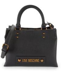 Love Moschino Women's Boxed Top Handle Bag - Black