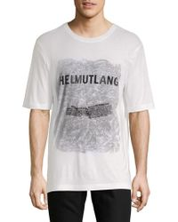 Helmut Lang - Boxy-fit Short-sleeve Tee - Lyst