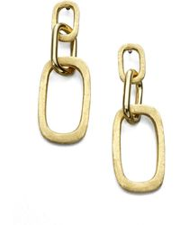 Marco Bicego - Murano 18k Yellow Gold Link Drop Earrings - Lyst