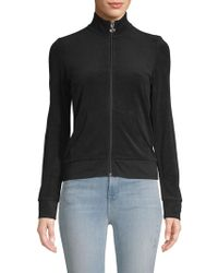 Juicy Couture - Classic Long-sleeve Zip-up Jumper - Lyst