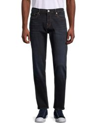 True Religion Geno No Flap Relaxed Slim Jeans - Blue