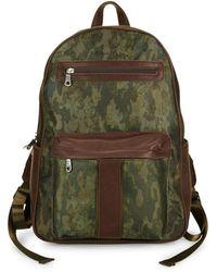 Robert Graham Alban Printed Backpack - Green