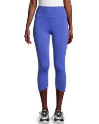 Nanette Lepore Cropped Active Leggings - Blue