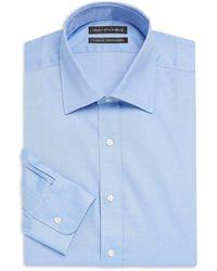 Saks Fifth Avenue - Solid Twill Cotton Dress Shirt - Lyst