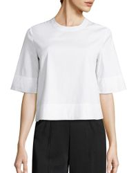 A.L.C. - Frankie Lace-up Top - Lyst