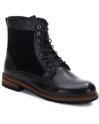 Saks Fifth Avenue - Kramer Leather & Suede Boots - Lyst
