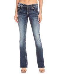 Miss Me Chloe Bootcut Jeans - Blue