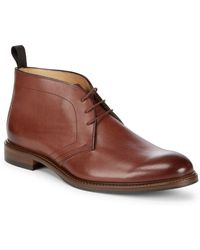 Saks Fifth Avenue - Leather Chukka Boots - Lyst