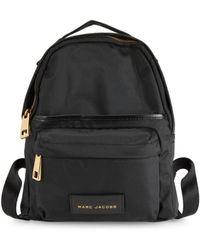 Marc Jacobs Women's Goldtone Zip Backpack - Black