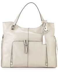 Vince Camuto - Narra Leather Tote - Lyst