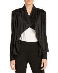 Donna Karan - Draped Jacket - Lyst