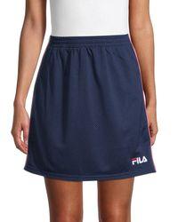 Fila Miriam Tearaway Mini Skirt - Blue