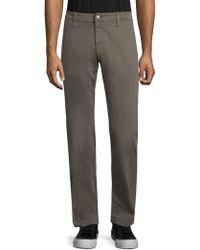 Mavi Jeans - Zach Grey Twill Straight-leg Trousers - Lyst