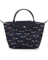 Longchamp - Le Pliage Chevaux Ailes Nylon Small Top Handle Bag - Lyst