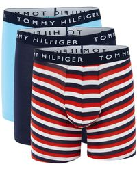 Tommy Hilfiger 3-pack Stretch Boxer Briefs - Blue
