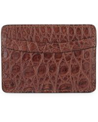 Saks Fifth Avenue Collection Leather Card Case - Multicolour