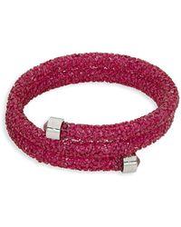 Swarovski - Crystals Cuff Bracelet - Lyst