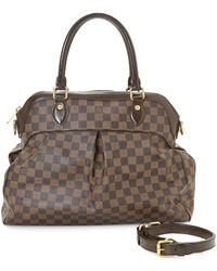 Louis Vuitton Trevi Gm Satchel - Brown